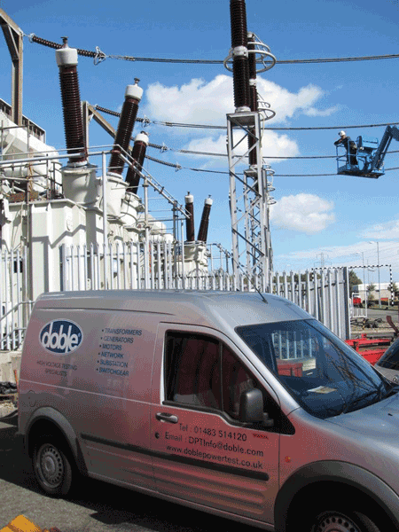 Doble Power Test opens in the UK