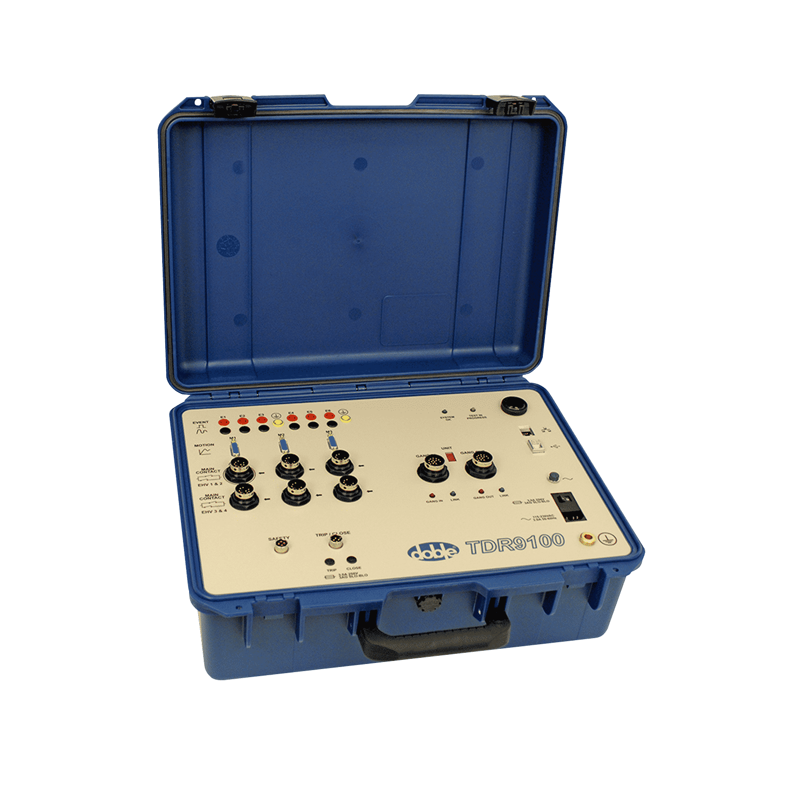 Doble Tdr9100 Circuit Breaker Analyzer Engineering Company Electrical Systems Oil Product